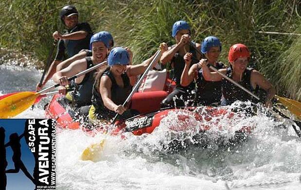 Piragüismo y rafting en Hoces del Cabriel