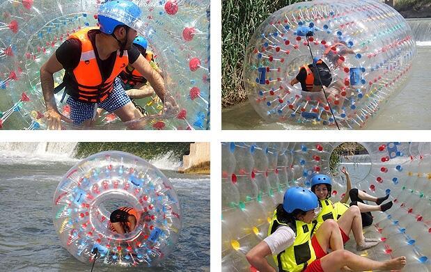 Rafting + Rollerball en el río Segura