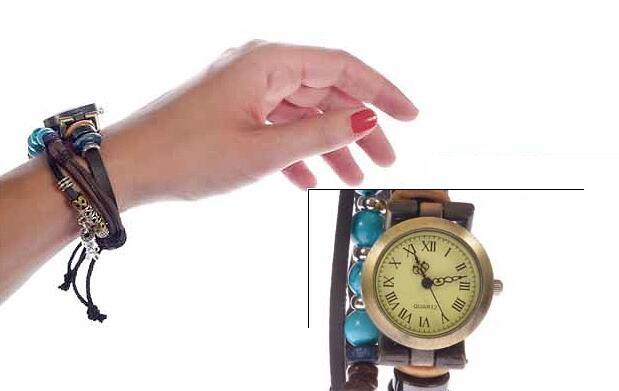 Un original reloj-pulsera por 17 €