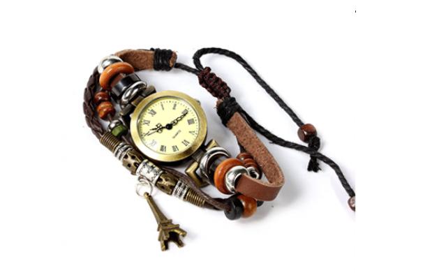 Reloj de pulsera vintage Lady Paris