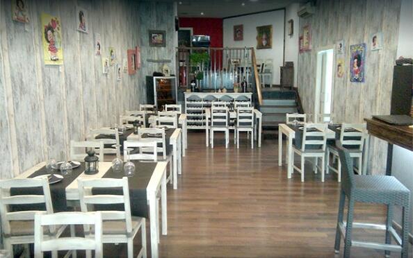 Cena mediterránea en Come Amigos de Ruzafa