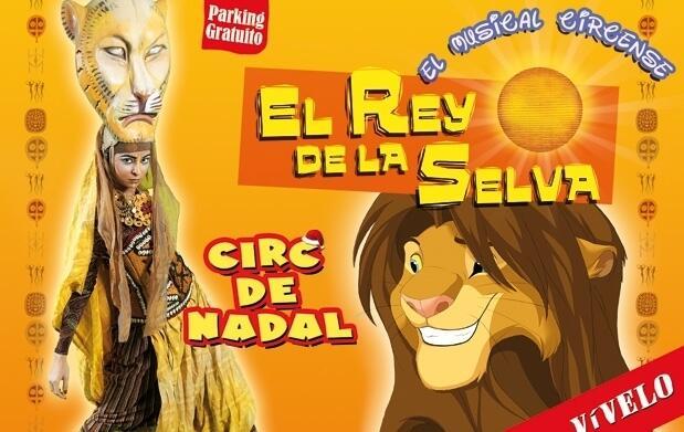 El musical 'El Rey de la Selva'  por 4€