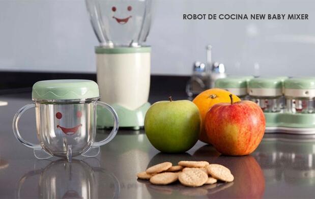 Robot de cocina Baby Mixer de Newcook