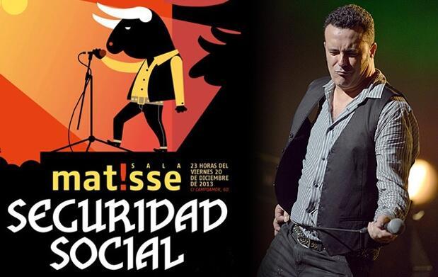 Concierto de Seguridad Social en Matisse