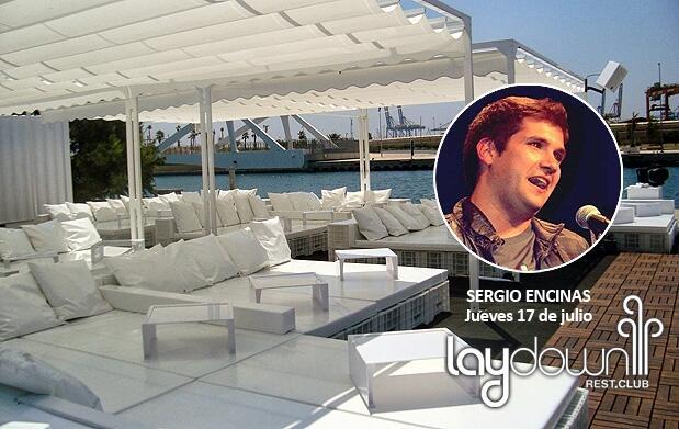 Sergio Encinas + mojito en Laydown