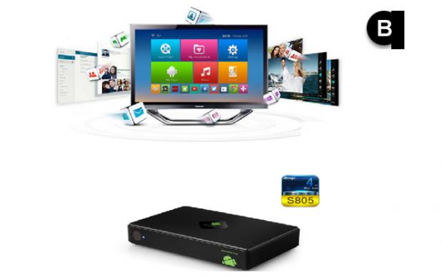 Smart TV Android quadcore A5 + mando