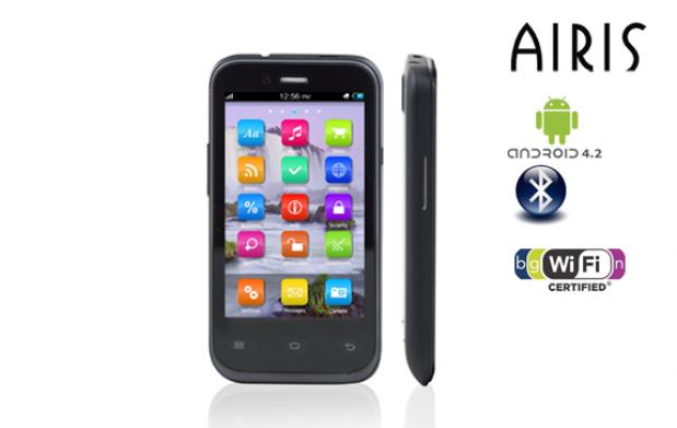 Smartphone Airis con pantalla táctil