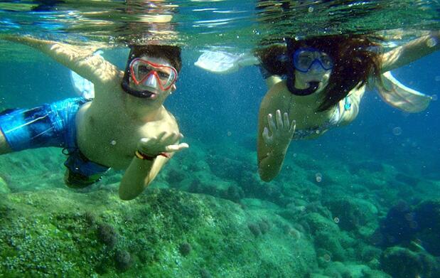 Snorkel guiado en la playa de Calpe