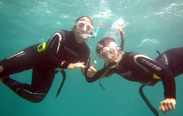 Curso de snorkel PADI SKIN DIVER en Calpe