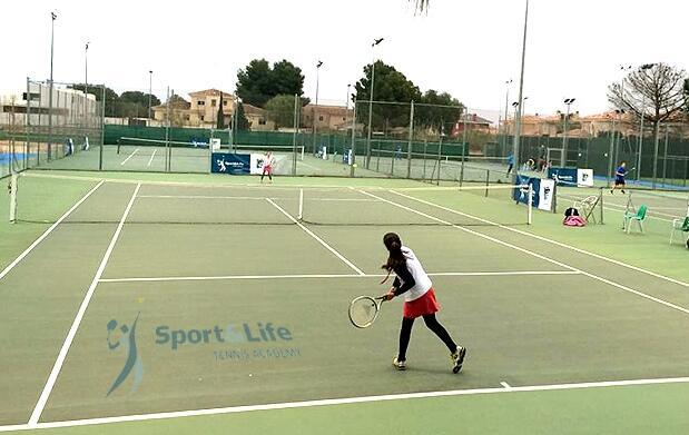 Clases de tenis por solo 24€ al mes