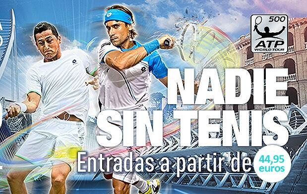 2 entradas para el Valencia Open 500