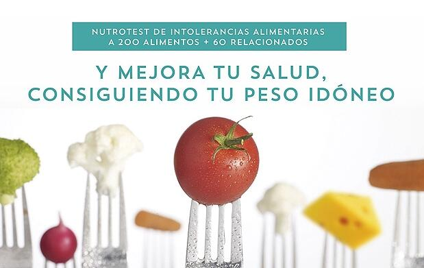 Test de intolerancia con estudio y dieta