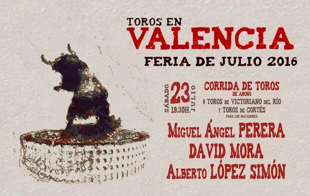 Entradas de toros de la Feria de Julio de Valencia