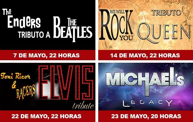 Beatles + Queen + Elvis +Michael por 29€