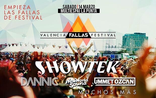 Entradas para el Valencia Fallas Festival