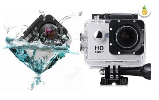 Videocámara deportiva waterproof FullHD