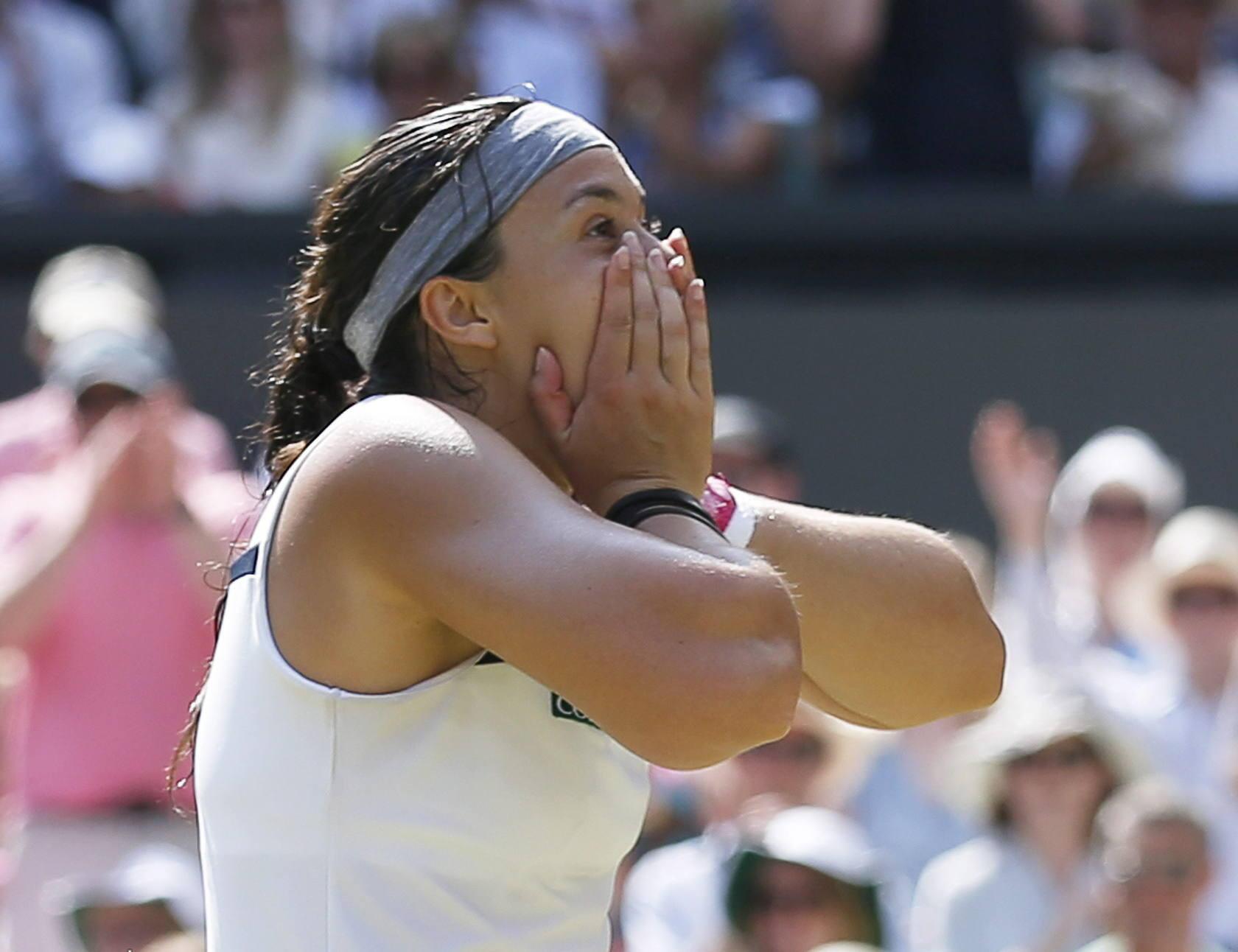 La francesa Marion Bartoli gana Wimbledon
