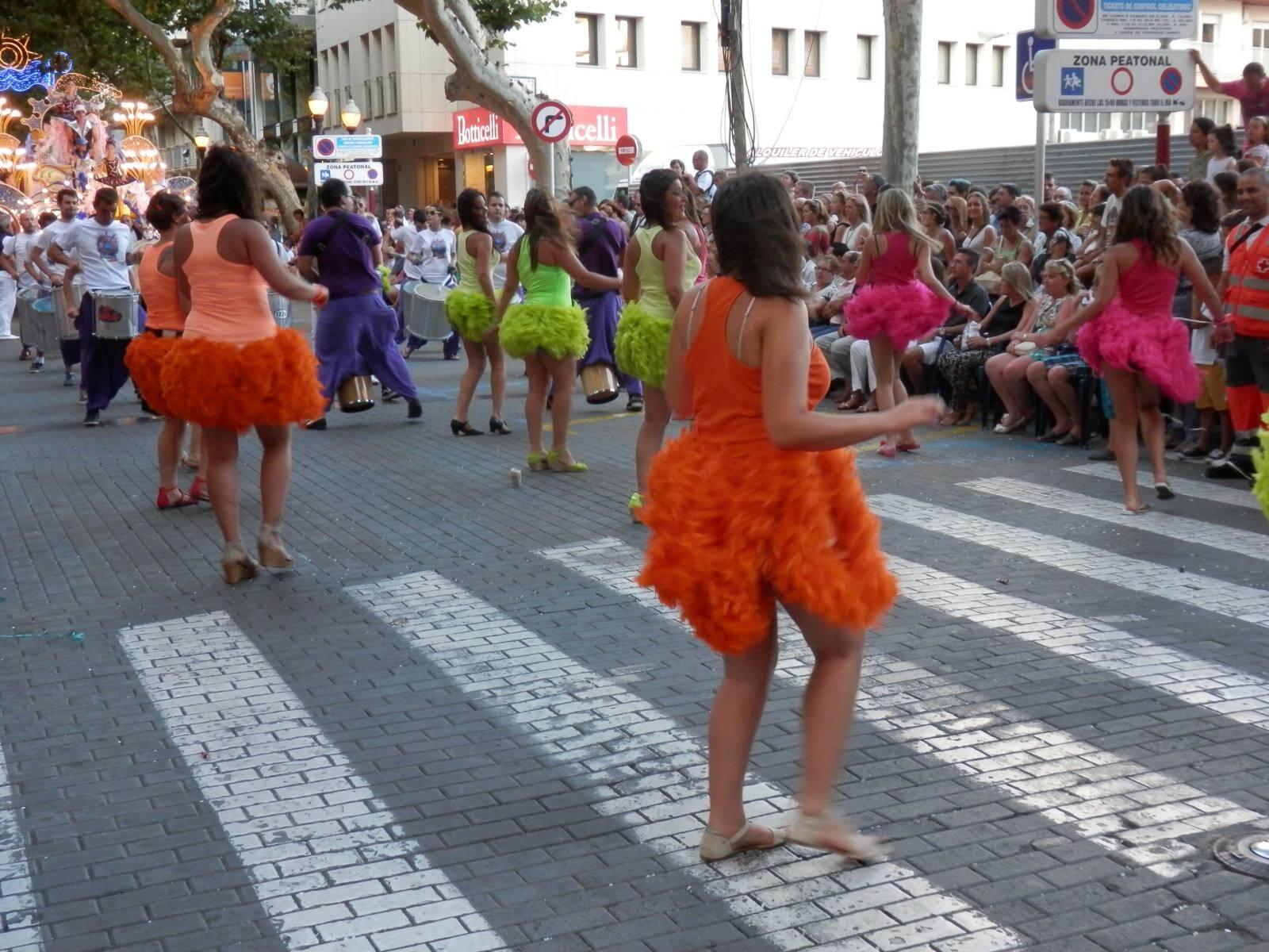 Desfile de carrozas de Dénia 2013