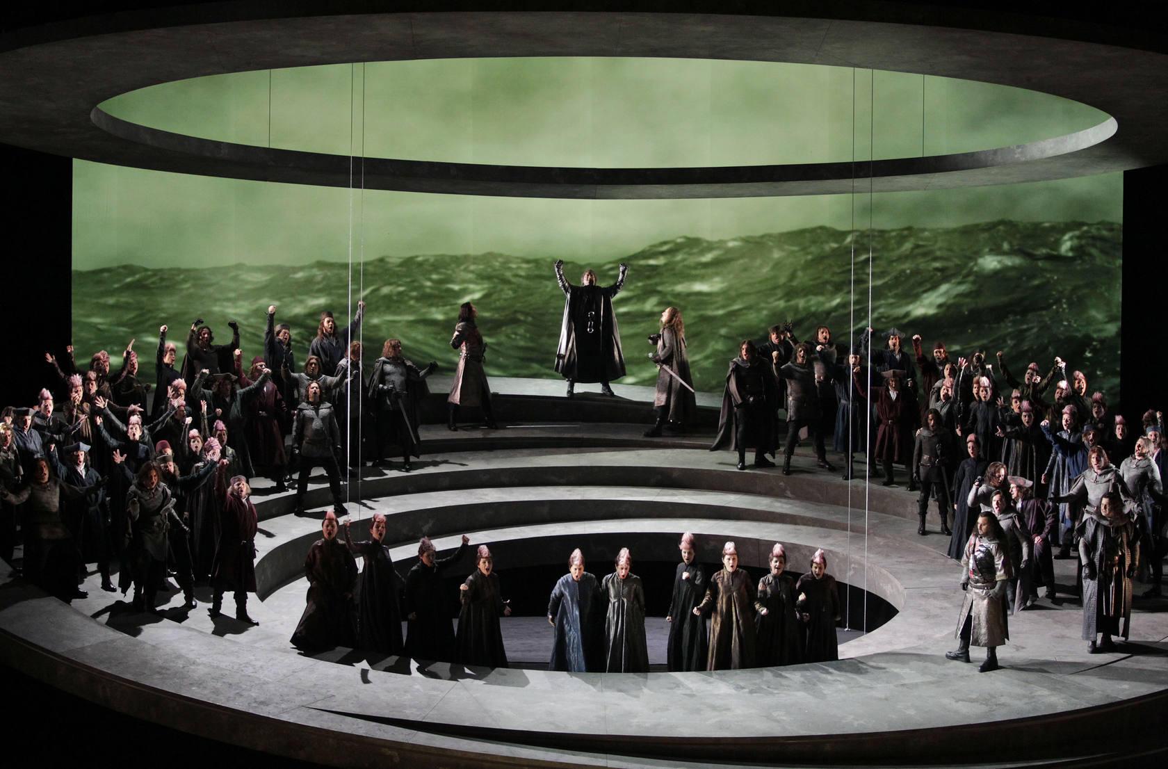 Ensayo general de 'Otello' en el Palau de les Arts