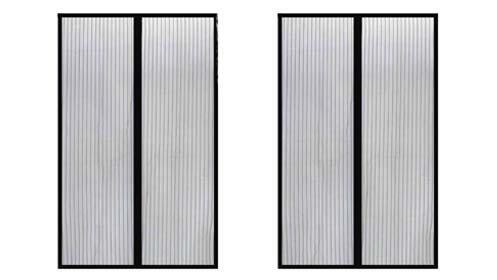Mosquiteras magnéticas para puertas en negro o con búhos