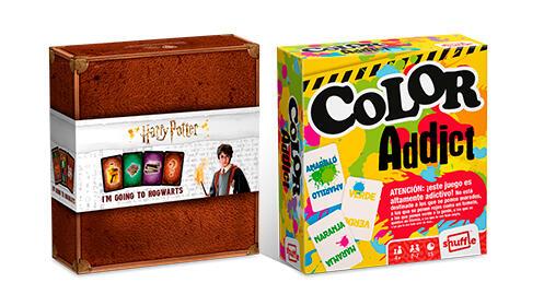 Juego de cartas de Harry Potter + Color Addict