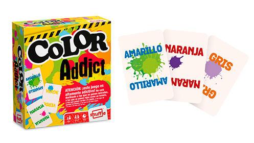 Juego de cartas de la Patrulla Canina + Color Addict