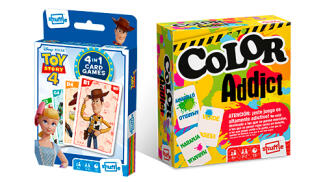 Juego de cartas de Toy Story 4 + Color Addict