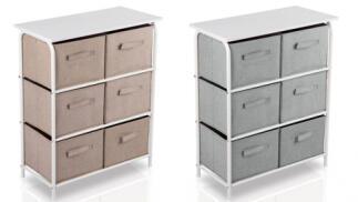 Mueble organizador en 2 colores