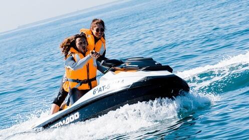 Alquiler de moto acuática sin titulación para 1-2 personas