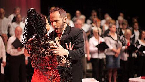 Entradas de 'Bailando con Carmen' en Sagunt a Escena