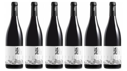 Caja 6 botellas Pirineos 3404 D.O Somontano 2018