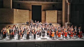 'La consagración de la primavera' en el Teatro Romano de Sagunto