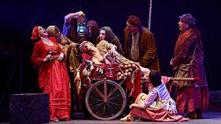 'Divinas palabras' en el Teatro Romano de Sagunto