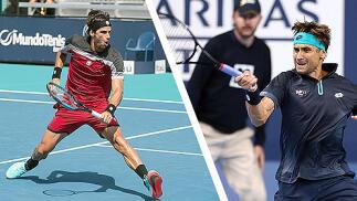 Ferrer vs Feliciano y Wilander vs Costa en la SMCV2019