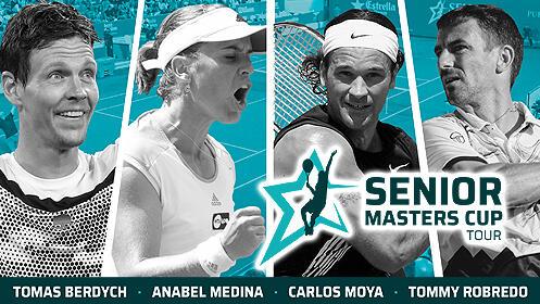 Entradas para la Senior Masters Cup Valencia 2020