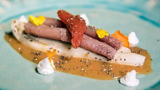 Menú gourmet en el Restaurante Goya Gallery