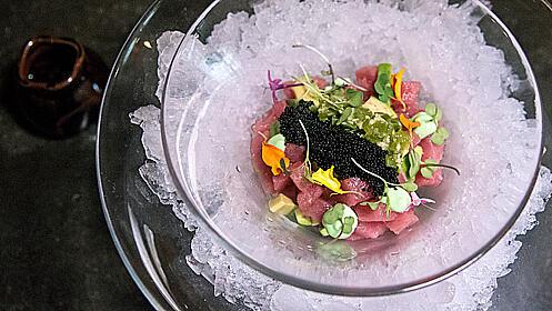Menú gourmet en el Restaurante Honoo