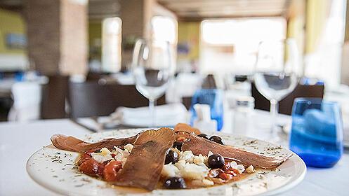Menú gourmet en el Restaurante Creu de la Conca