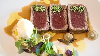 Menú gourmet en el Restaurante Sorolla