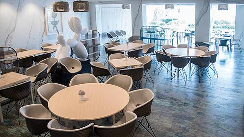 Menú gourmet en el Restaurante Tridente