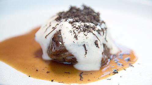 Menú gourmet en el Restaurante Vertical