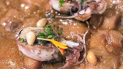 Menú gourmet en el Restaurante Yarza