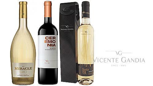 Lote de vinos Vicente Gandia