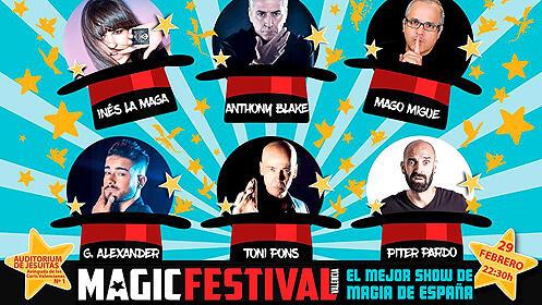 Entrada para el Magic Festival Valencia