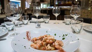 Menú gourmet en el Restaurante Taberna Alkázar