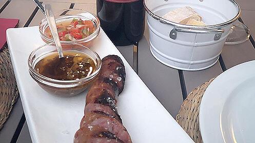 Menú gourmet en el Restaurante Asador San Telmo