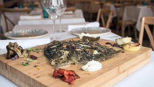 Menú gourmet en el Restaurante Tapearte