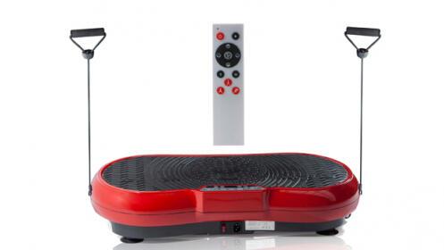 Plataforma vibratoria Fitness, ¡Además ofrece varias funciones!