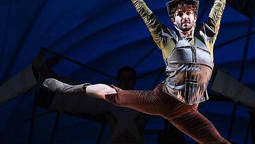 'El Quijote del Plata' en el Teatro Romano de Sagunto