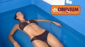 Descubre la terapia de flotación antiestrés del Centro Oblivium